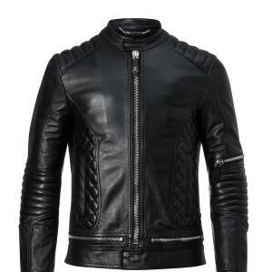 Men's Black Smart Bomber Jacket
