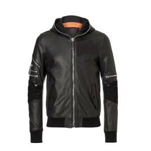Men's Essential Black Leather Jacket