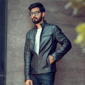 Men Designer Choice Plain Black Leather Jacket