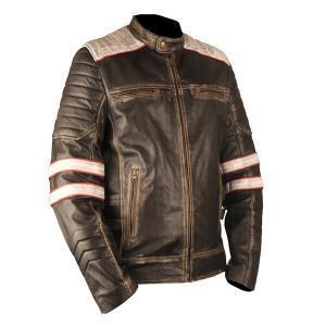 Men's Nightingale Brown Leather Jacket