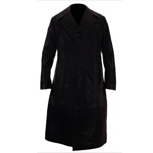 Culture- Men's Black Leather Coat