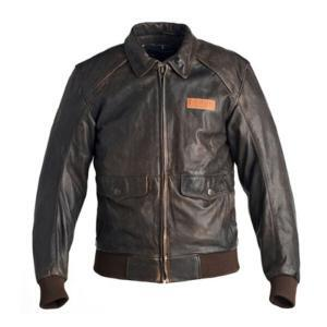 Choco Brown - Men's Bomber Leather Jacket