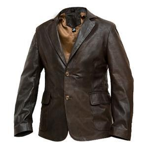 Cooper - Men's Brown Leather Jacket