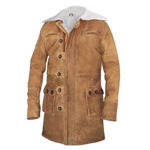 Men's Brown Barn Leather Coat