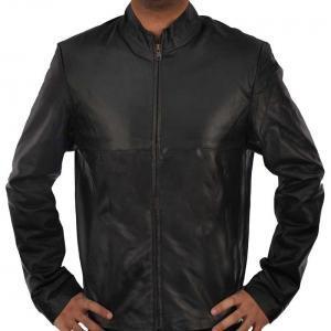 Simple - Black Leather Jacket
